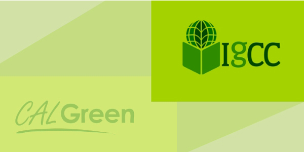 CALGreen, IgCC, International Green Construction Code, sustainable building code, green code